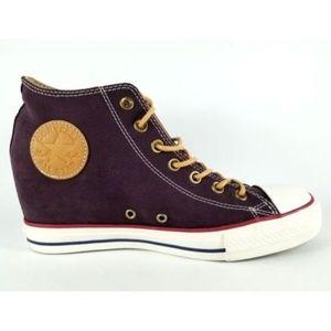 Converse CTAS Lux Mid Hidden Wedge Fashion Sneaker